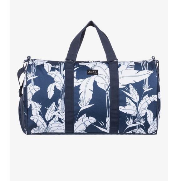 Roxy Handbags - 🌺NWT Roxy Mood Indigo 43L Large Duffle Bag